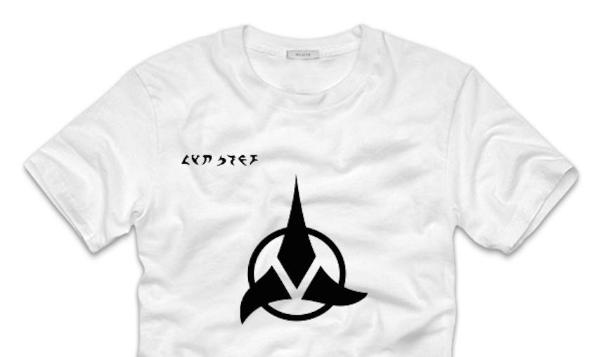 A Zooz Klingon T-Shirt (Courtesy)