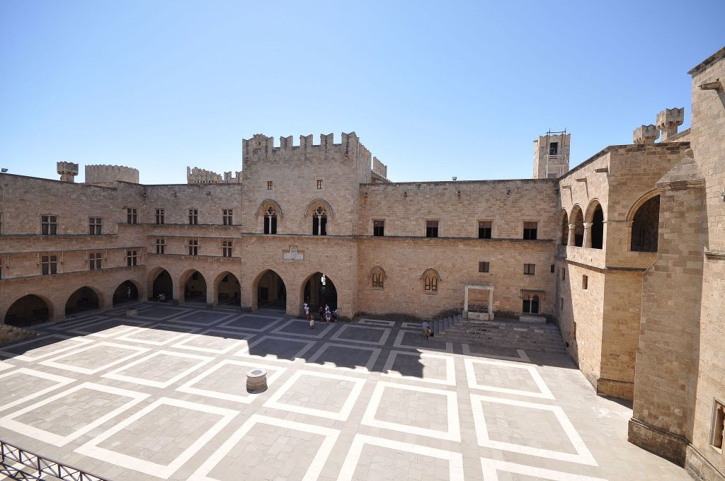 Palace of the Grand Master of the Knights of Rhodes (Wikimedia Commons/ via JTA)