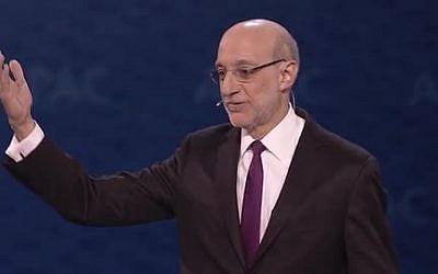 AIPAC's President Robert Cohen (Courtesy)
