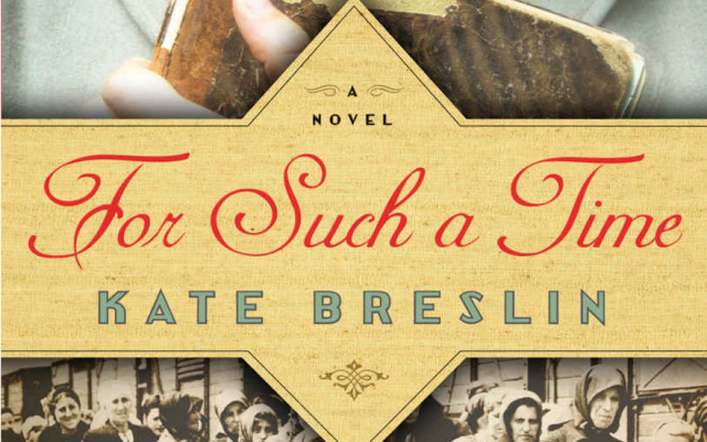 The cover of Kate Breslin's award-nominated novel 'For Such a Time' (screenshot: JTA)