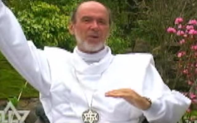 Rael founder Claude Vorilhon (YouTube screenshot)