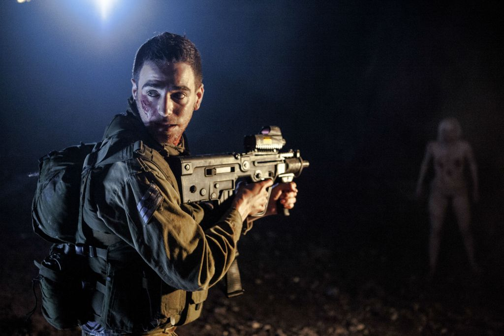 Christians, Muslims and Jews can all just get along when fighting zombies in 'JeruZalem.' (courtesy)