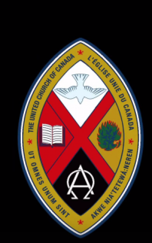 United Church of Canada logo (Screen capture via Youtube)