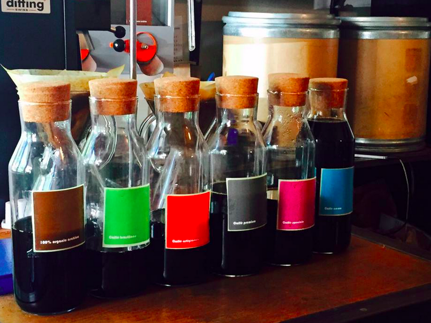 Cold brewed coffee at Cafelix in Tel Aviv (and Jerusalem) (Courtesy Cafelix)