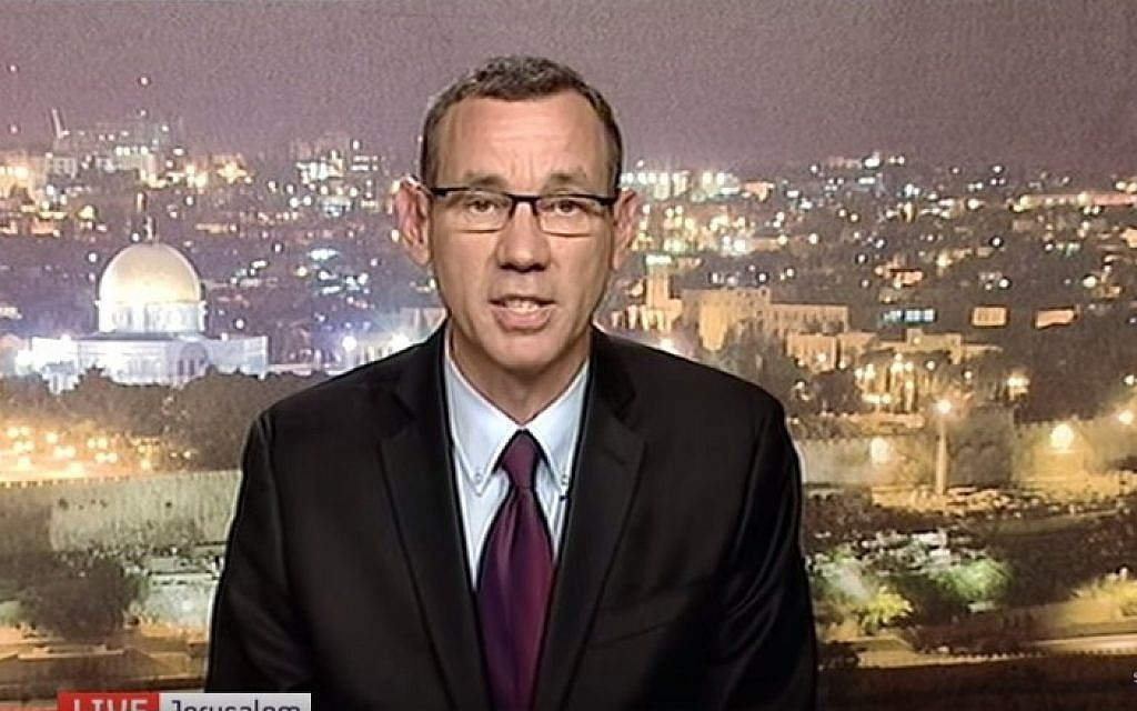 Prime Minister's Office Spokesman Mark Regev (Screen capture YouTube)