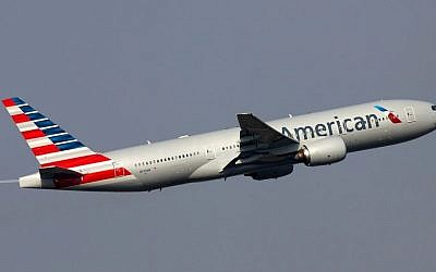Illustrative: An American Airlines Boeing 777 during takeoff (CC-BY-SA Sergey Kustov/Wikimedia Commons)