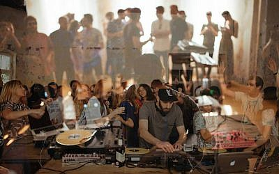 Israeli DJ Yarin Lidor will play a set at the Prince Charles club in Berlin. (Ben Kirschenbaum/JTA)