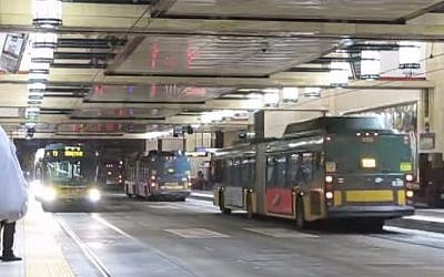 Buses in Seattle, illustrative (YouTube screen capture)