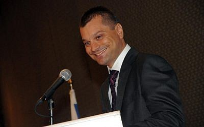 Avi Kasztan, CEO and co-founder of Israeli cyber-Intelligence firm Sixgill (Courtesy)