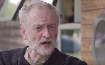 Labour leadership candidate Jeremy Corbyn. (YouTube screen grab)