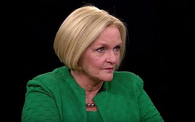 Democratic Senator Claire McCaskill (YouTube screenshot)