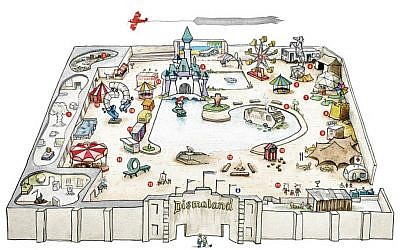 A site map of Dismaland. (Dismaland.co.uk)