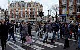 Illustrative photo of Amsterdam, Holland, December 19, 2011. (Nati Shohat/Flash90)