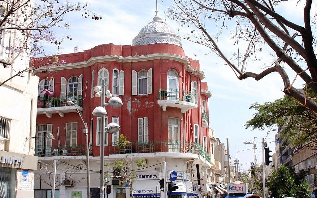 The Nordau Hotel, Nahalat Binyamin (Shmuel Bar-Am)