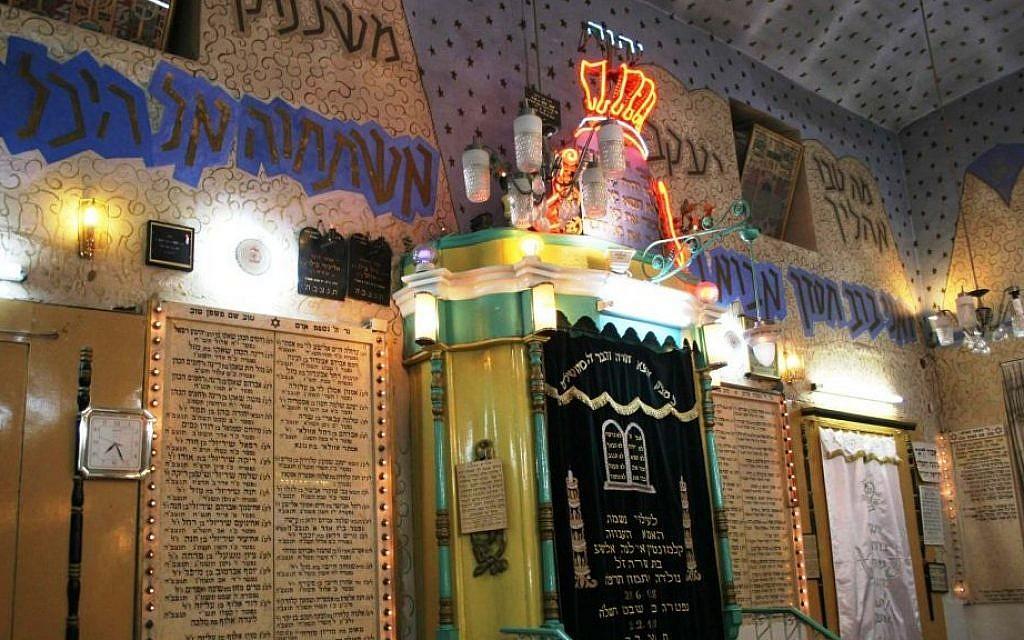 Ohel Moshe synagogue's most unusual ark (Shmuel Bar-Am)