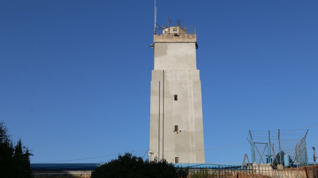 The Romema water tower (Shmuel Bar-Am)