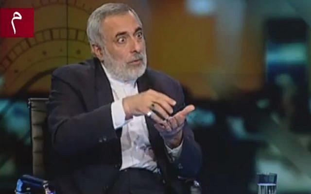 Hussein Sheikholeslam (screen capture: YouTube)