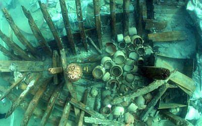 Baron de Rotschild's shipwreck? (Haifa University)