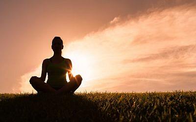 Meditation image (Shutterstock)