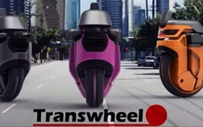 The Transwheel robots (YouTube screen cap)