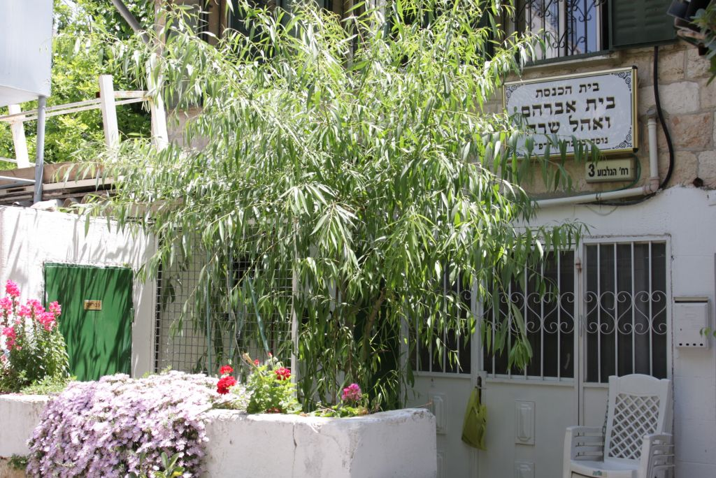 Ohel Sarah, originally a house built in 1925 by Jewish immigrants from the Greek town of Yanina, was later transformed into a synagogue (Shmuel Bar-Am)