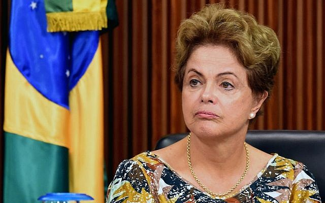 Brazilian President Dilma Rousseff is unhappy with the appointment of Dayan as Israeli ambassador. (Photo by AFP PHOTO/EVARISTO SA)