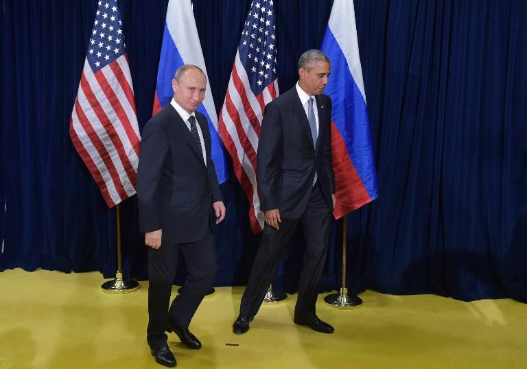 Obama och putin talade om syrien ukraina