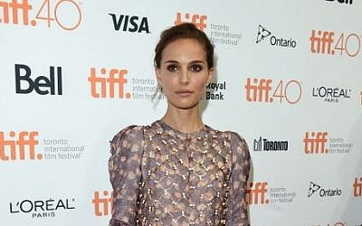 Actress Natalie Portman attends the 4th annual festival kick-off fundraising soiree during the 2015 Toronto International Film Festival at TIFF Bell Lightbox, Toronto, Canada, September 9, 2015. (Jason Merritt/Getty Images/AFP)