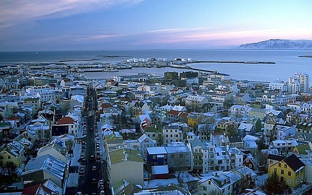 A view of Reykjavik, Iceland's capital. (CC BY-SA 3.0 Andreas Tille/Wikipedia)