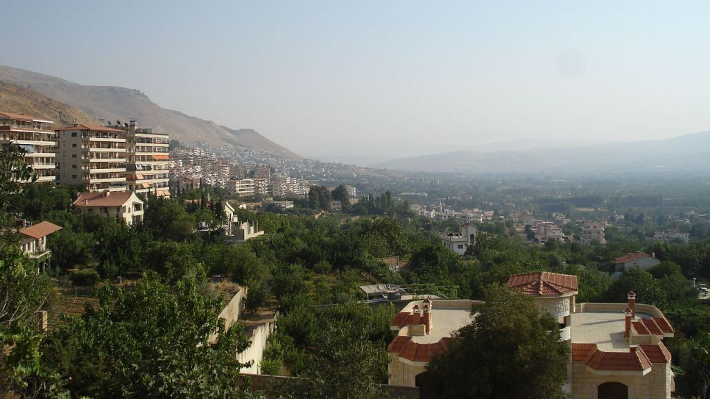 Zabadani, Syria (Wikipedia)