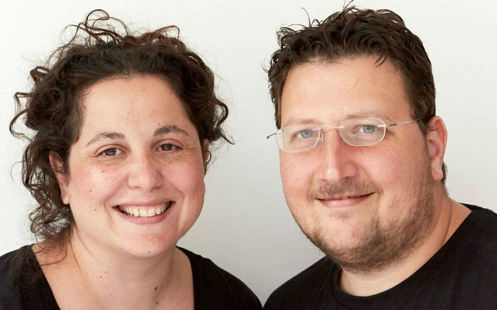 Celebrity chef husband and wife team Itamar Srulovich and Sarit Packer (© Patricia Niven 2015)