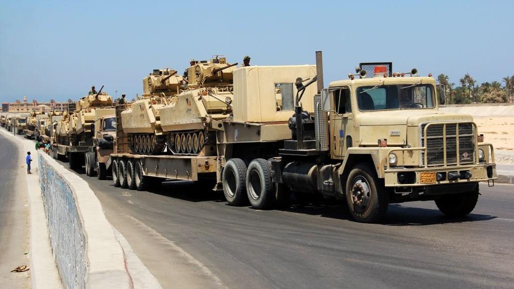 Military Transport Tanks