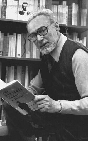 Italian author Primo Levi on December 10, 1984 (AP Photo)