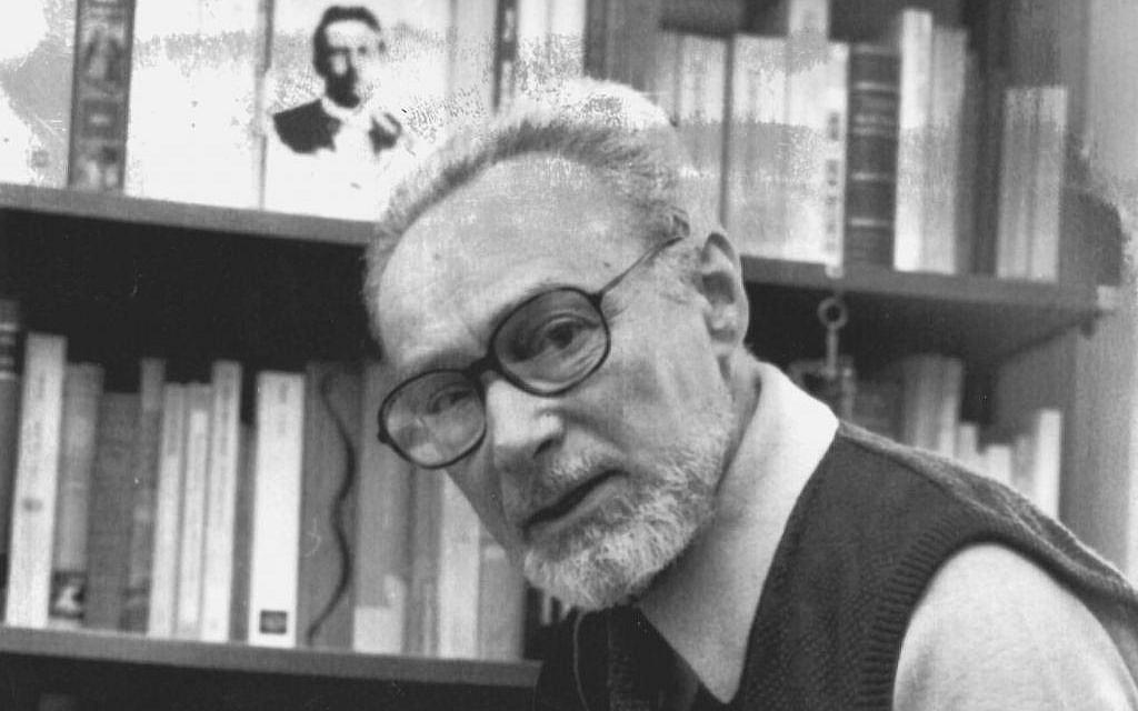 Italian author Primo Levi on December 10, 1984 (AP Photo)