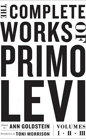 """This cover image released by Liveright Publishing Corporation shows """"The Complete Works of Primo Levi,"""" edited by Ann Goldstein. (Liveright Publishing Corporation via AP)"""