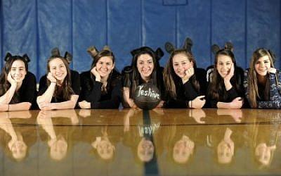 Northwest Yeshiva High School's 2014-2015 women's basketball team. (Courtesy of Northwest Yeshiva High School/via JTA)
