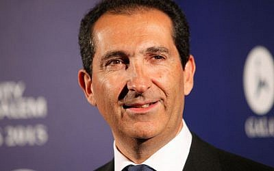 Altice group's Chairman Patrick Drahi poses for photographers at the Scopus Awards of the French Friends of the Hebrew University, in Paris, France on March 18, 2015. (AP/Thibault Camus, File)
