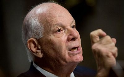 In this July 23, 2015 file photo, Ranking Member Sen. Ben Cardin, D-Md. is seen during a Senate Foreign Relations Committee hearing on Capitol Hill to review the Iran nuclear agreement. (AP/Andrew Harnik)