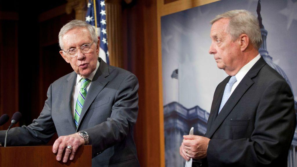10 2015 File Photo Senate Minority Leader Harry Reid