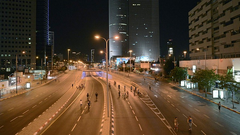 Image result for israel yom kippur night picture