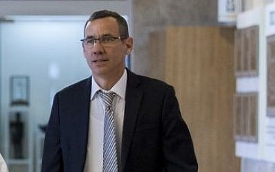 Israel's envoy to the United Kingdom Mark Regev (Miriam Alster/Flash90)