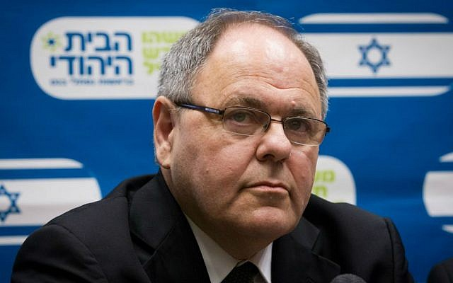 Dani Dayan, former head of the Yesha Council, on December 14, 2014 (Miriam Alster/Flash90)