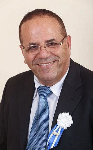 Likud MK and then-Deputy Minister for Regional Affairs Ayoub Kara. (Nati Shohat/Flash90)