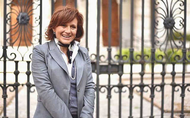 President of Rome's Jewish community, Ruth Dureghello (courtesy)