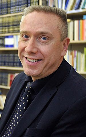 Günter Jek, the coordinator for the Central Board of Jewish Welfare in Germany. (courtesy)