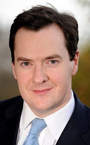 British Chancellor of the Exchequer George Osborne. (Courtesy: hm-treasury.gov.uk)