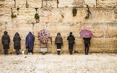 The Western Wall in Jerusalem by Iris Cohenian, one of many prints sold by Israel Framed (Courtesy)