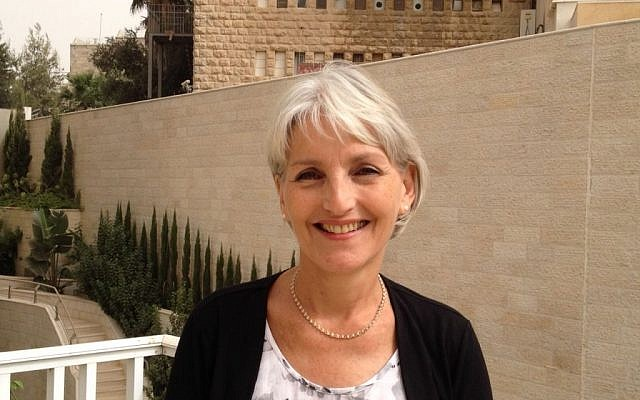 Search for Common Ground Jerusalem office co-director Sharon Rosen, September 10, 2015 (Elhanan Miller/Times of Israel)