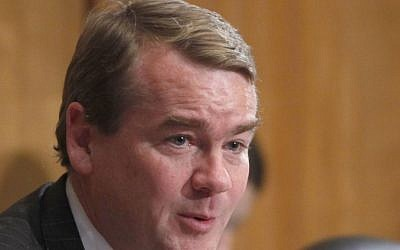Sen. Michael Bennet, D-Colo. speaks on Capitol Hill in Washington. (AP Photo/Charles Dharapak, File)