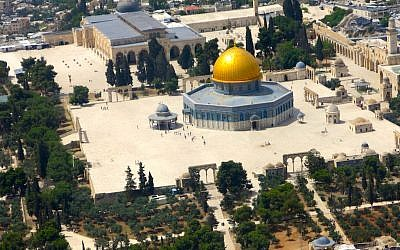 Al-Aqsa Mosque and Dome of the Rock on the Temple Mount (Qanta Ahmed)
